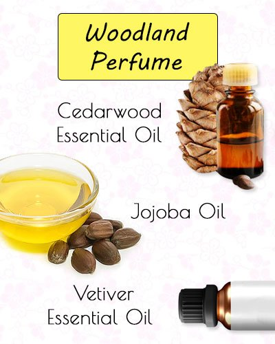 Woodland DIY Perfume Recipe