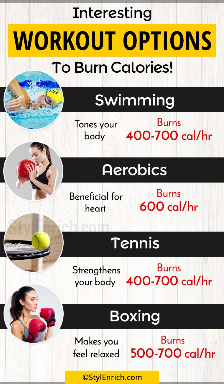 Best Workouts To Burn Calories
