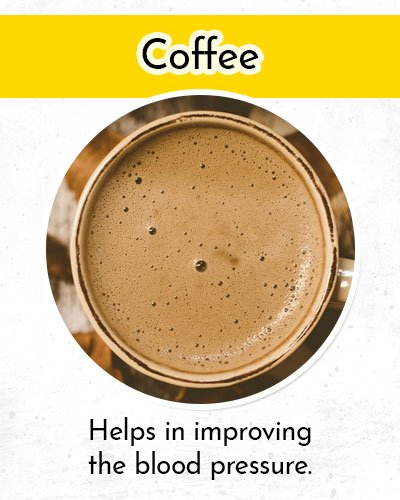 Coffee to Control Low Blood Pressure