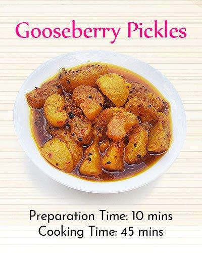 Recipe of Gooseberry Pickles