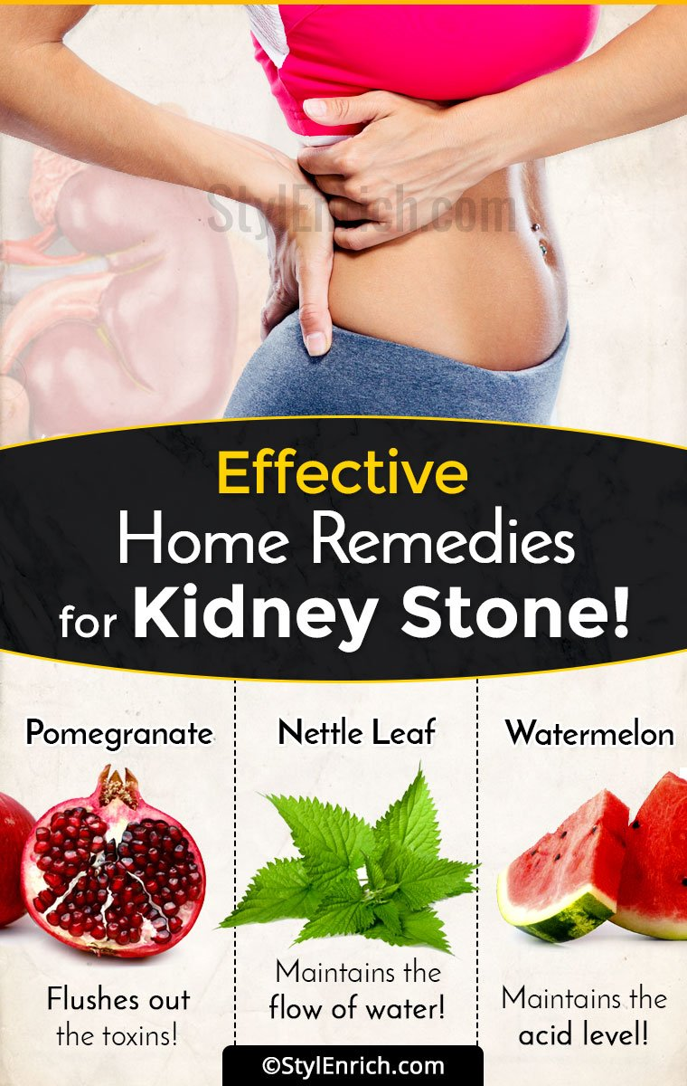 How to remove stone from the kidney folk remedies