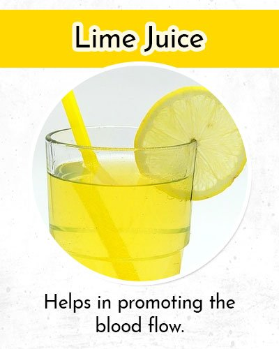 Lime Juice to Control Low Blood Pressure