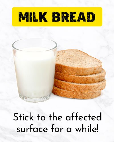 Milk Bread For Ingrown Hair