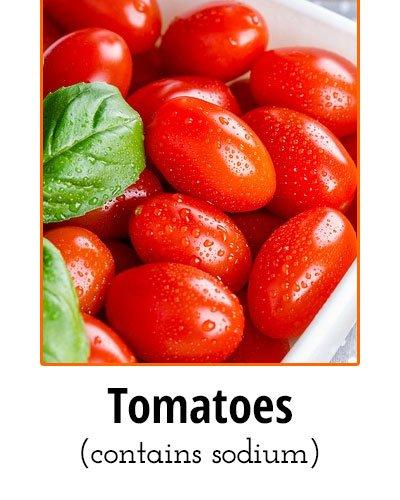 Tomatoes Low Sodium Food