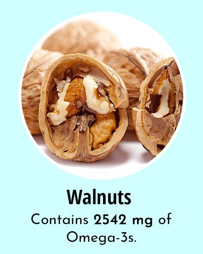 Walnuts Omega 3 Rich Foods