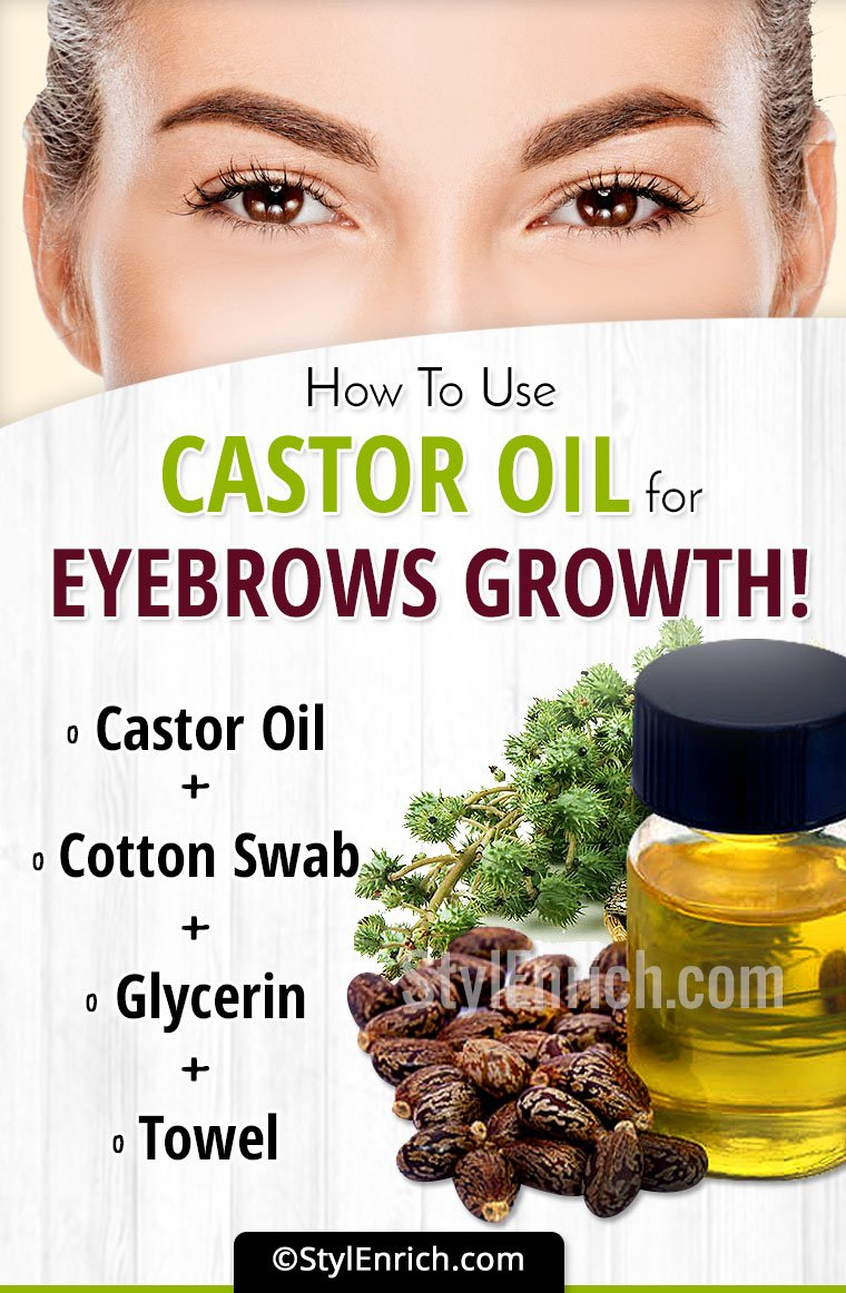 Castor Oil For Eyebrow Growth