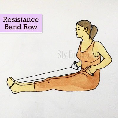 Resistance Band Row