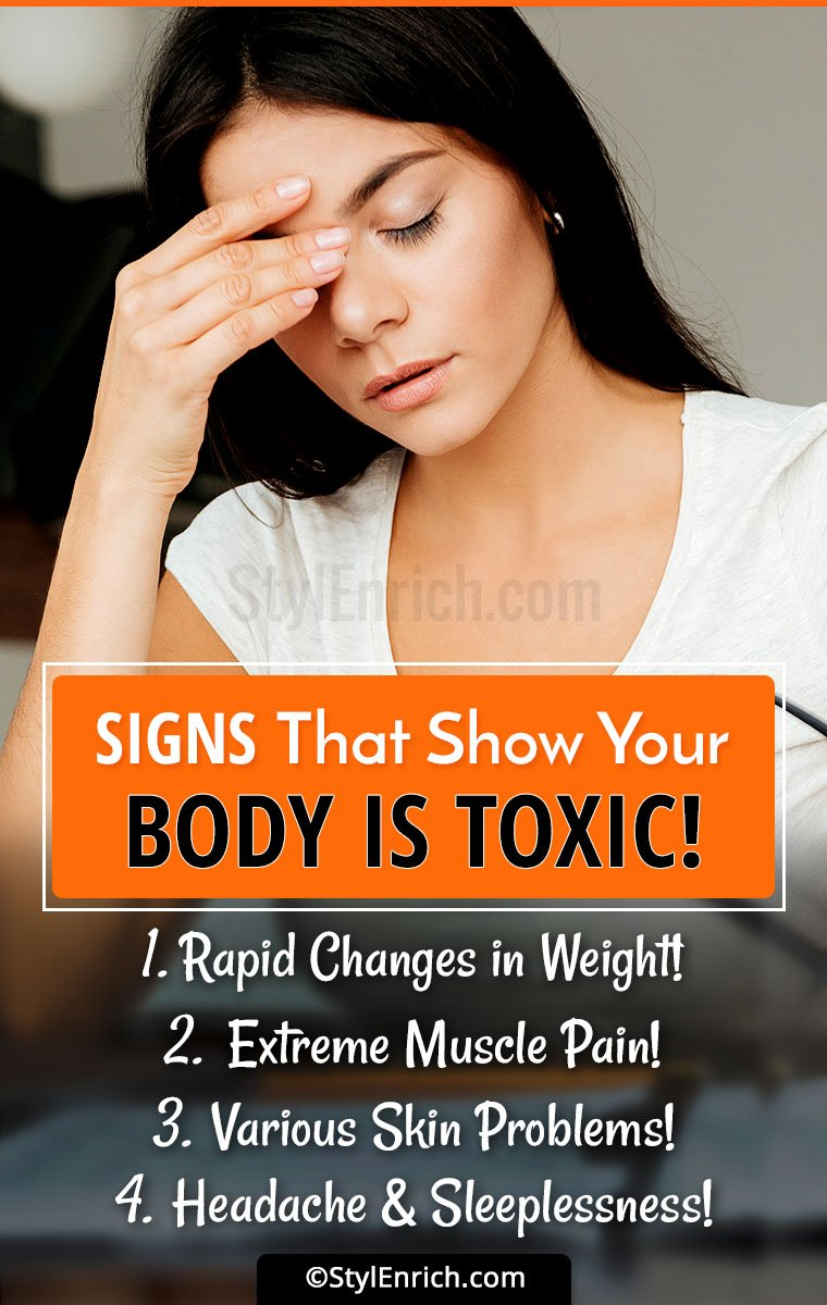 Signs of Toxins in Your Body