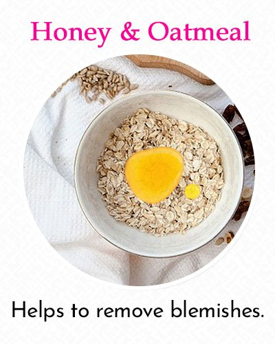 Honey and Oatmeal To Fix Uneven Skin Tone