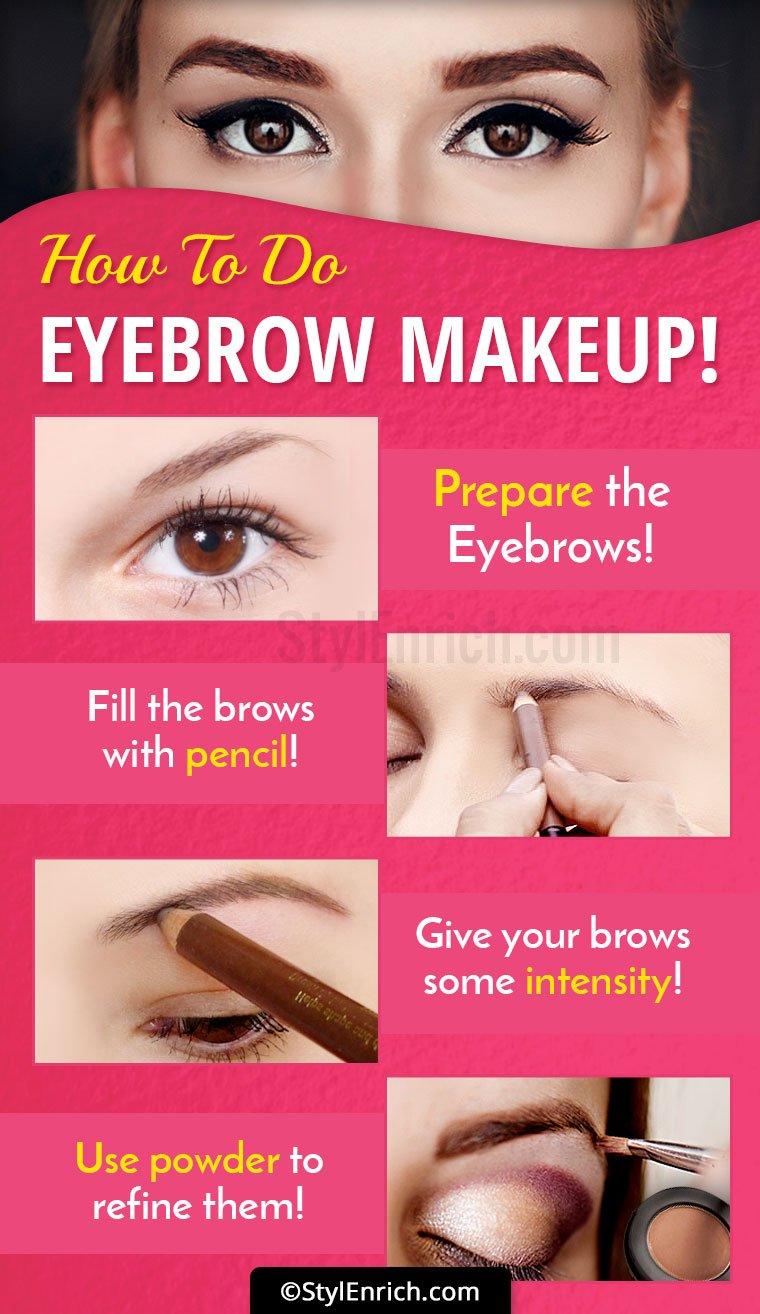 How To Do Eyebrow Makeup