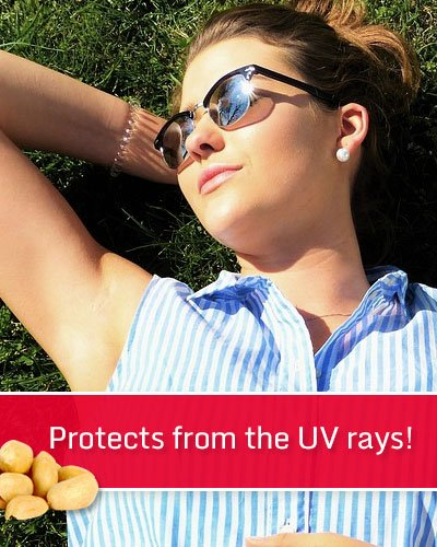 Peanuts Protects From The UV Rays