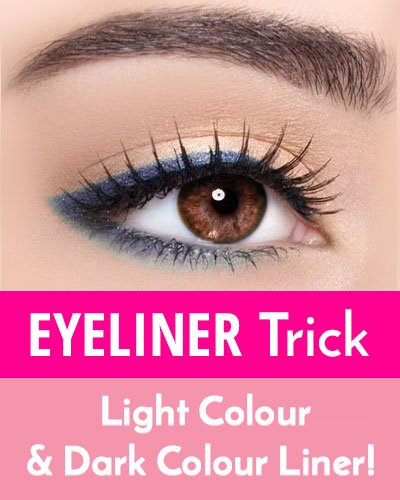 Light And Dark Colour Liner