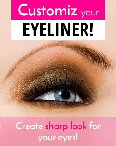 Unique Customized Eyeliner