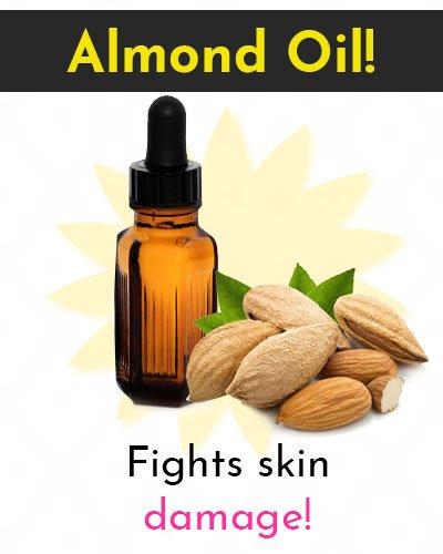 Almond Oil Natural Skin Moisturizer
