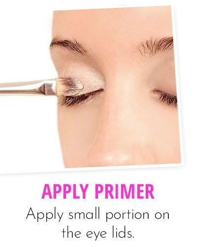 Application Of Eye Primer