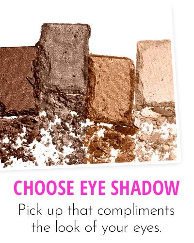 Choice Of Eye Shadow Colours