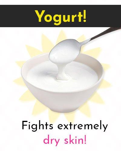 Yogurt Natural Skin Moisturizer