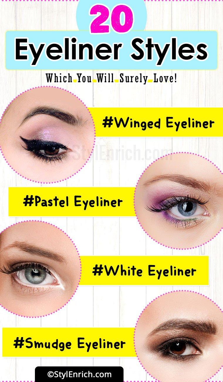 Different Eyeliner Ideas