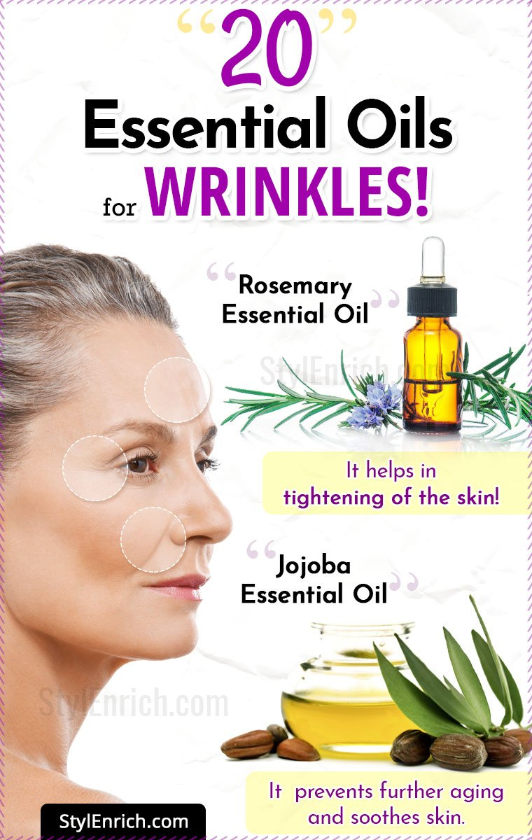 20 Essential Oils For Wrinkles