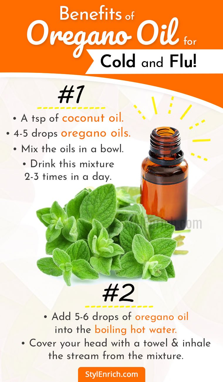 Oregano Oil for Colds and Flu