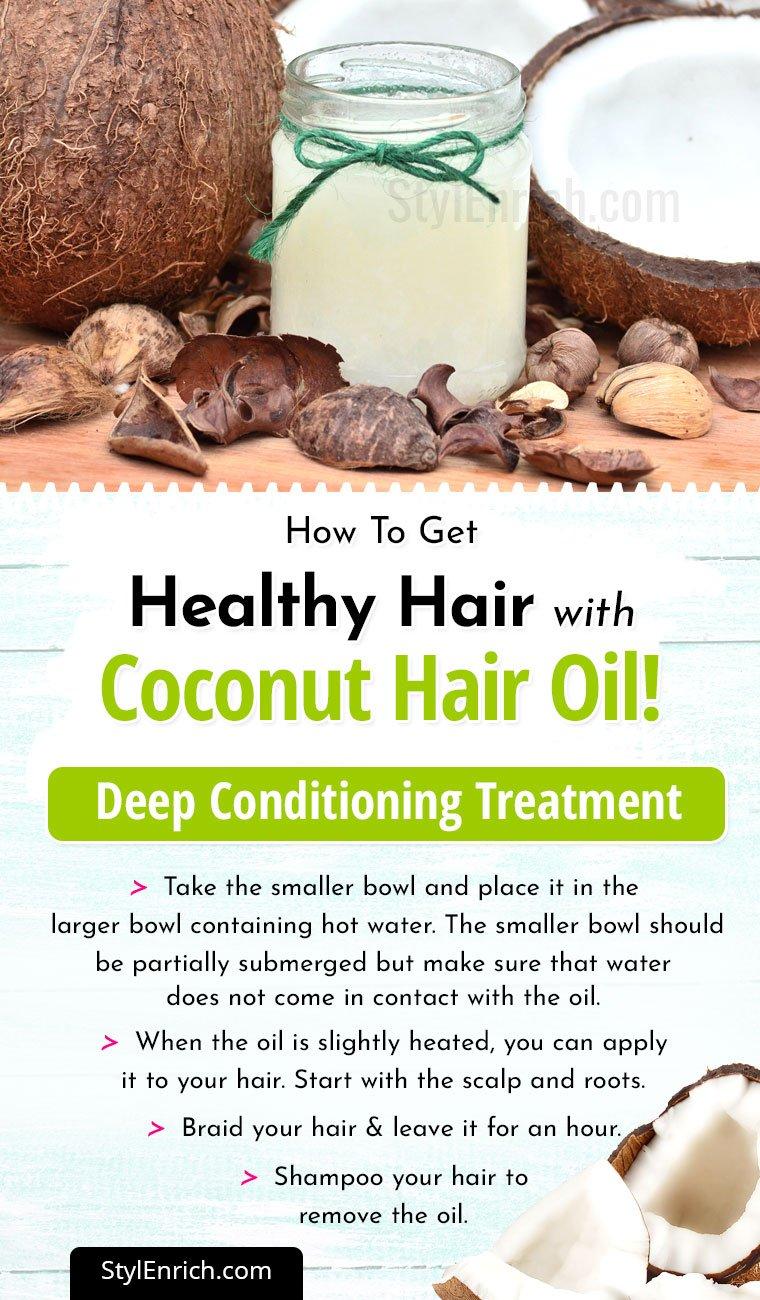 Coconut Oil HairTreatment