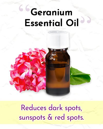 Geranium Essential Oil For Wrinkles