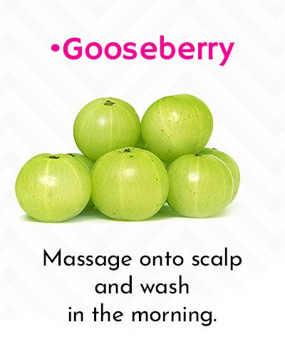 Natural Hair Growth Using Indian Gooseberry