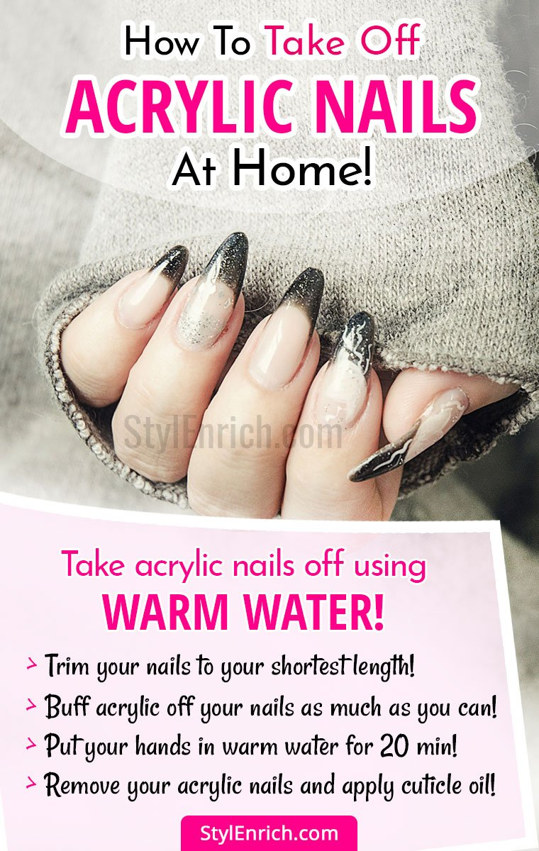 How To Take Off Acrylic Nails at Home - Let\'s Know Best Tips!