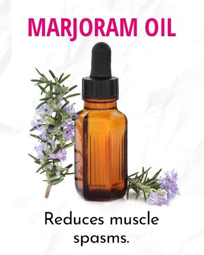 Marjoram Essential Oil For Menstrual Cramps