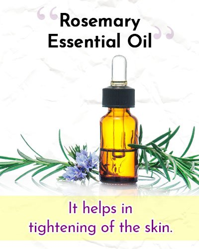 Rosemary Essential Oil For Wrinkles