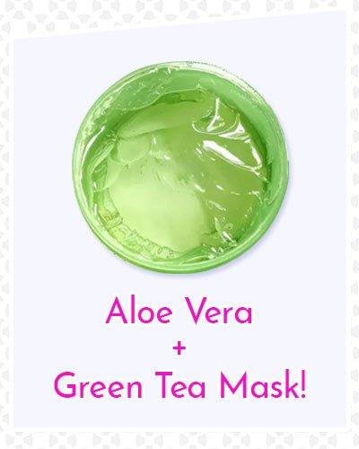 Aloe Vera and Green Tea Mask