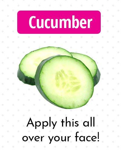 Cucumber for Dark Spots