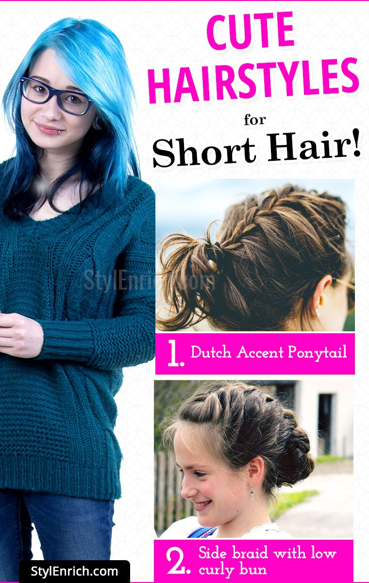 Part 1-20 Cute Hairstyles for Short Hair!