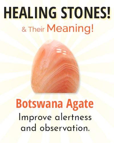 Botswana Agate Healing Stone