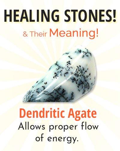 Dendritic Agate Healing Stone