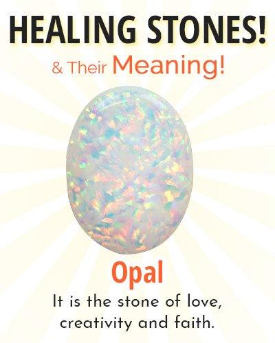 Opal Healing Stone