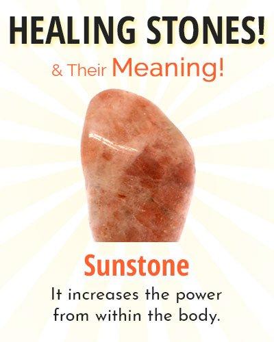 Sunstone Healing Stone