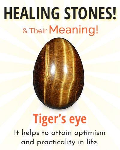 Tiger's eye Healing Stone