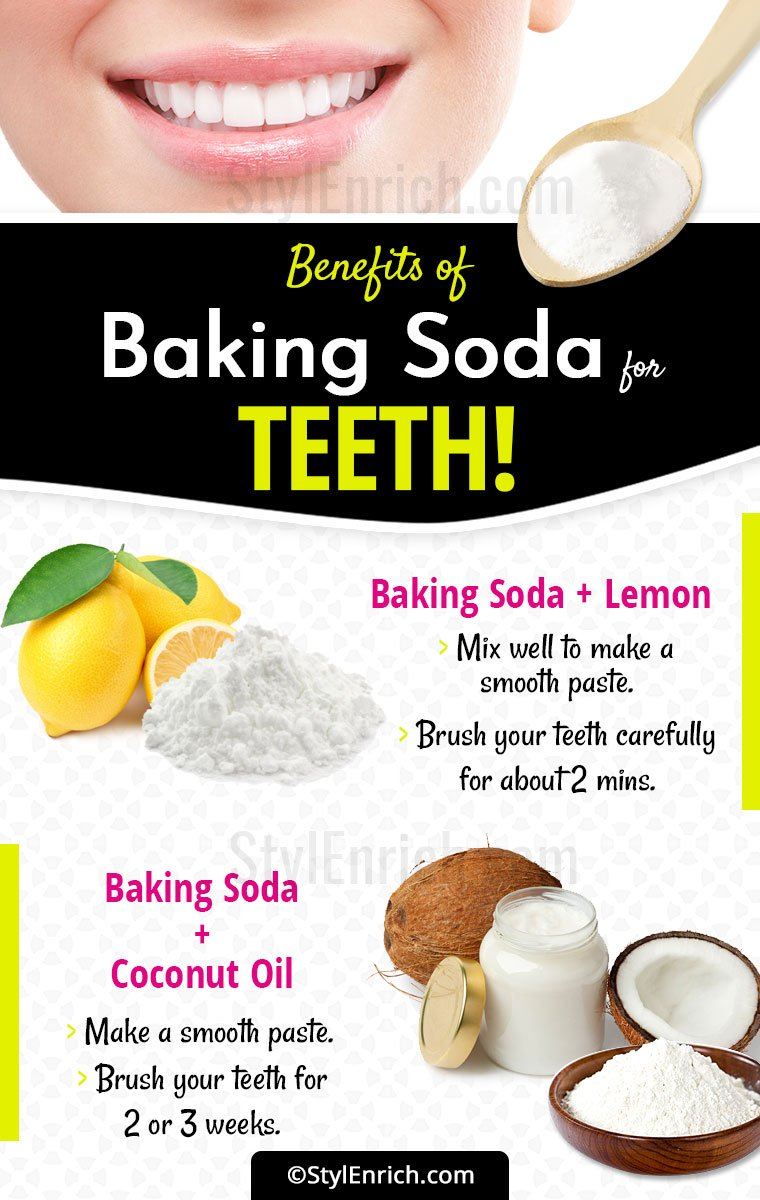 Baking Soda For Teeth