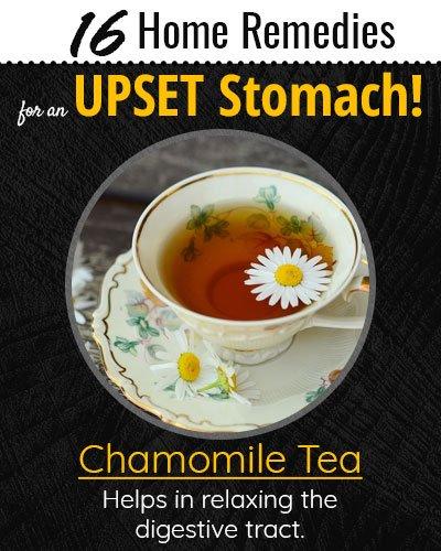 Chamomile Tea For Upset Stomach