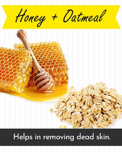 Honey & Oatmeal Face Mask For Acne