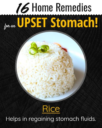 Rice For Upset Stomach