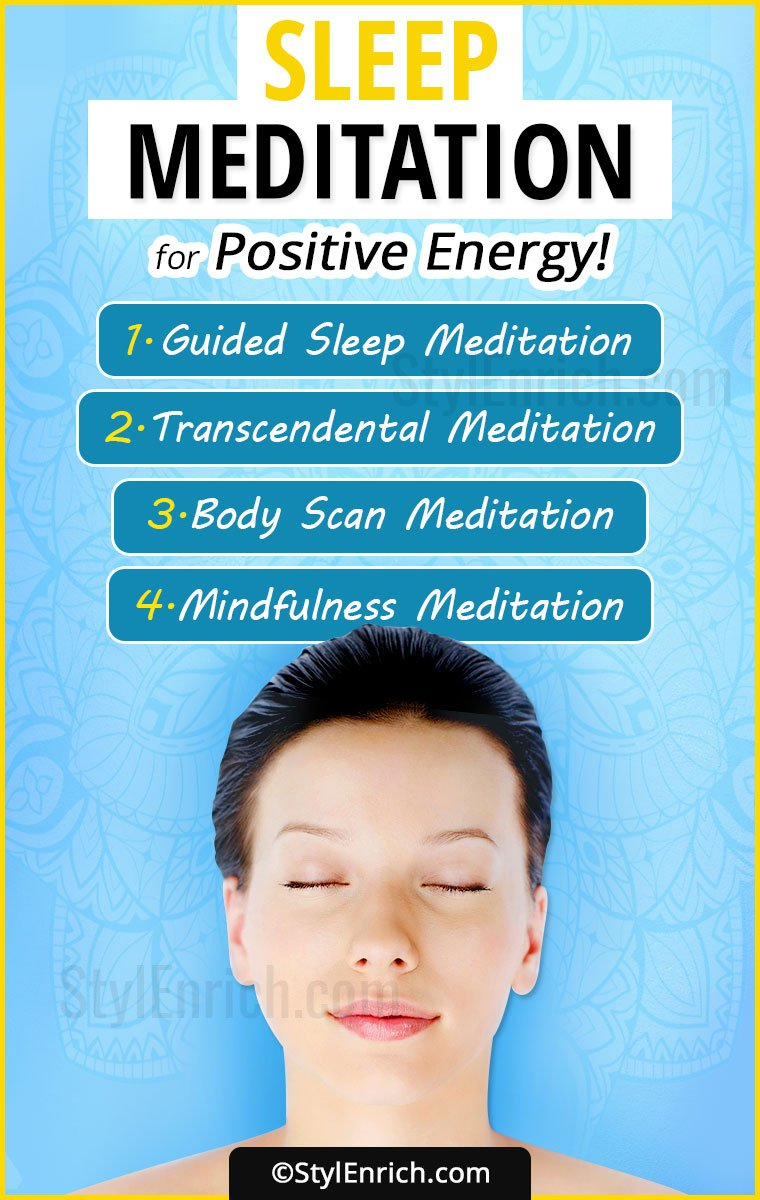 Sleep Meditation for Positive Energy