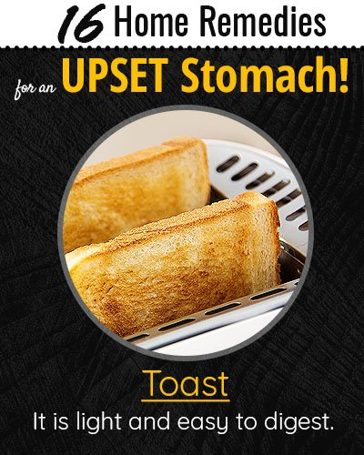 Toast For Upset Stomach
