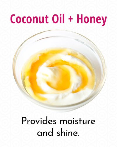Coconut Oil And Honey Conditioner