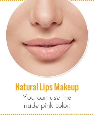 Makeup For Everyday Natural Lips