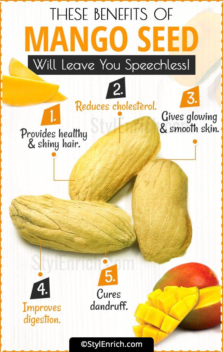 Mango Seed Benefits