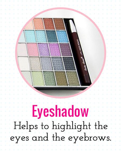 Eyeshadow to highlight the eyes