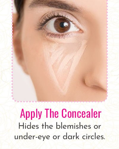 How To Apply The Concealer?