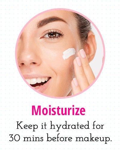 Moisturizing The Face